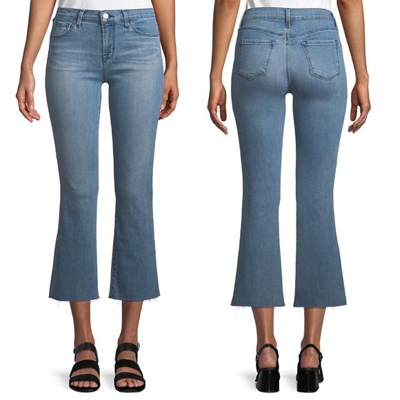 J Brand Denim - J Brand Selena Mid-Rise Crop Boot Jeans Size 28